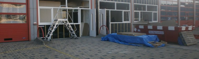 Brandweer Haaglanden in aanbouw